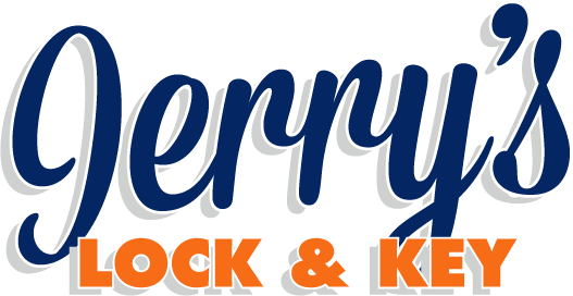 Jerrys Lock And Key Logo